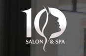 10 Salon & Spa Logo