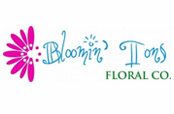 Bloomin' Tons Floral Co Logo