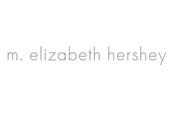 M. Elizabeth Hershey Logo